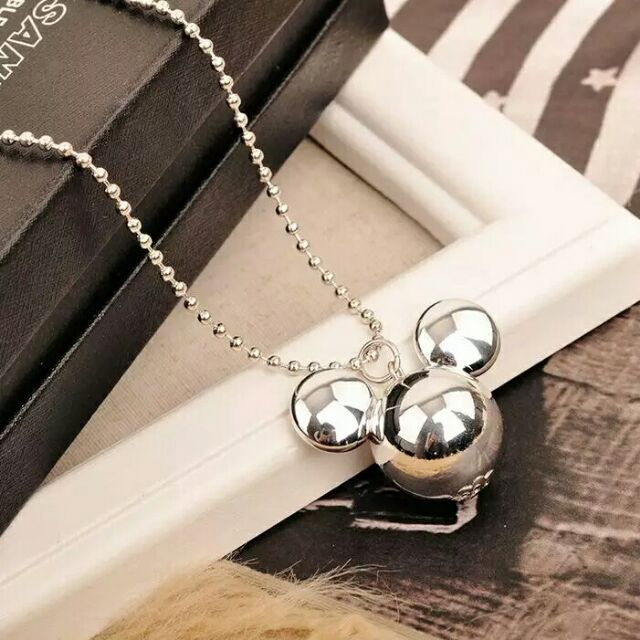 Mickey Mouse Cute Girls Accessories Necklace