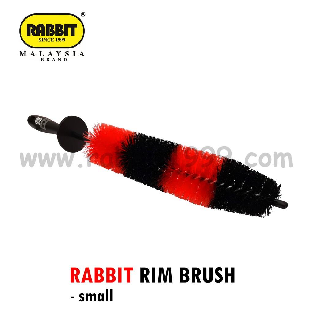 RABBIT RIM BRUSH- small- berus cuci rim/ rim cleaner/ alat-alat cuci rim/ wheel tyre rim cleaning washing brush tools