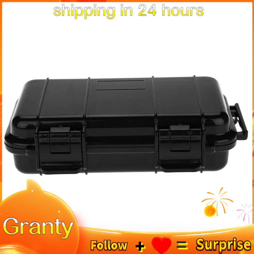 3 Types Outdoor Shockproof Pressure-Proof and Waterproof Sealed Box Survival Storage Case Portable Travel Case