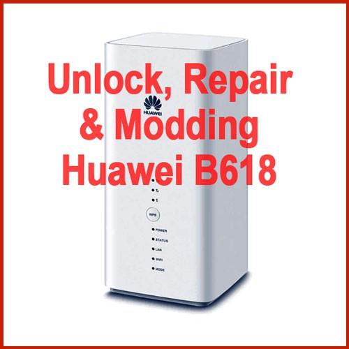 Unlock Repair Modding Huawei B618 B618s-22d B618s-65d