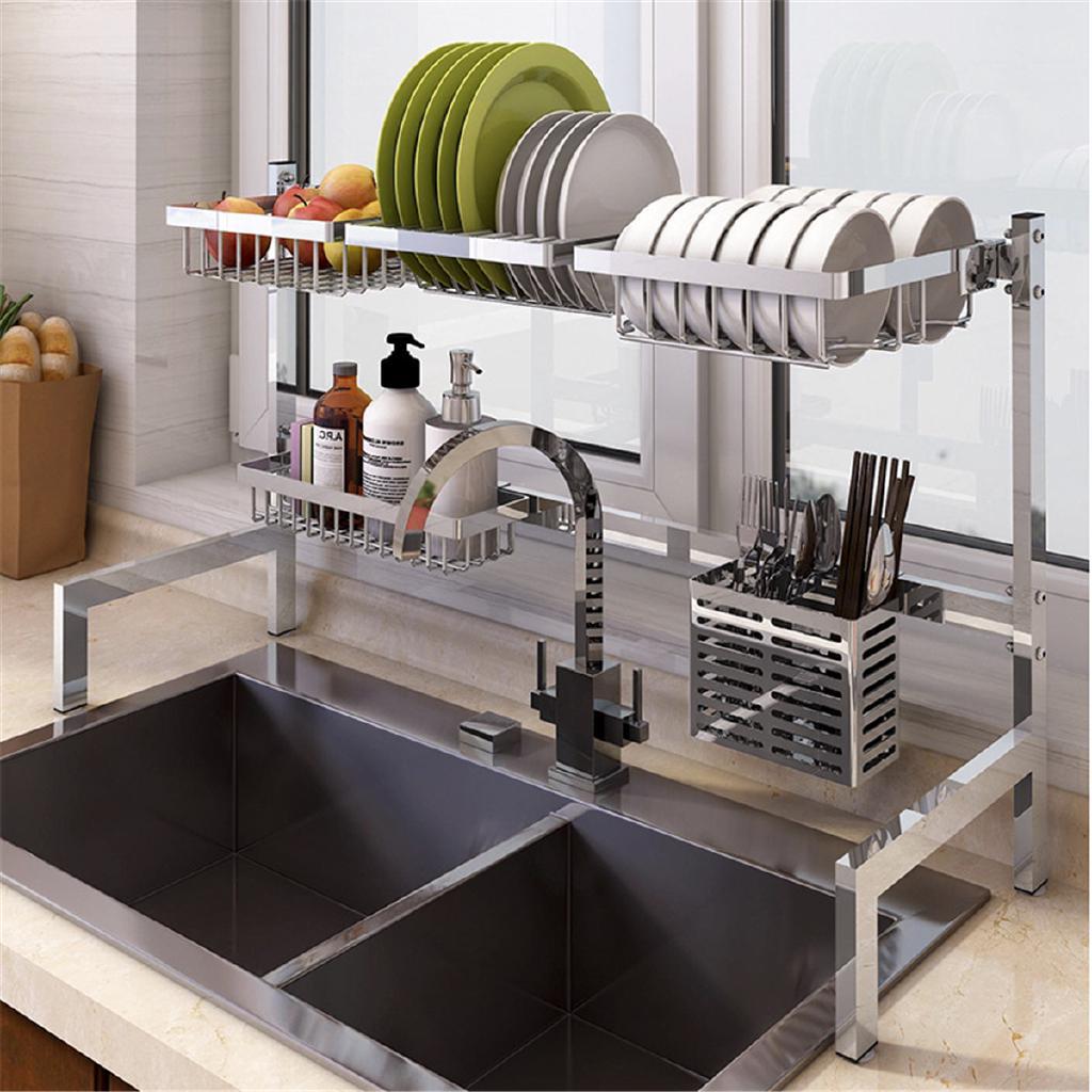 Multipurpose Stainless Steel 5 Hooks Organizer Cabinet