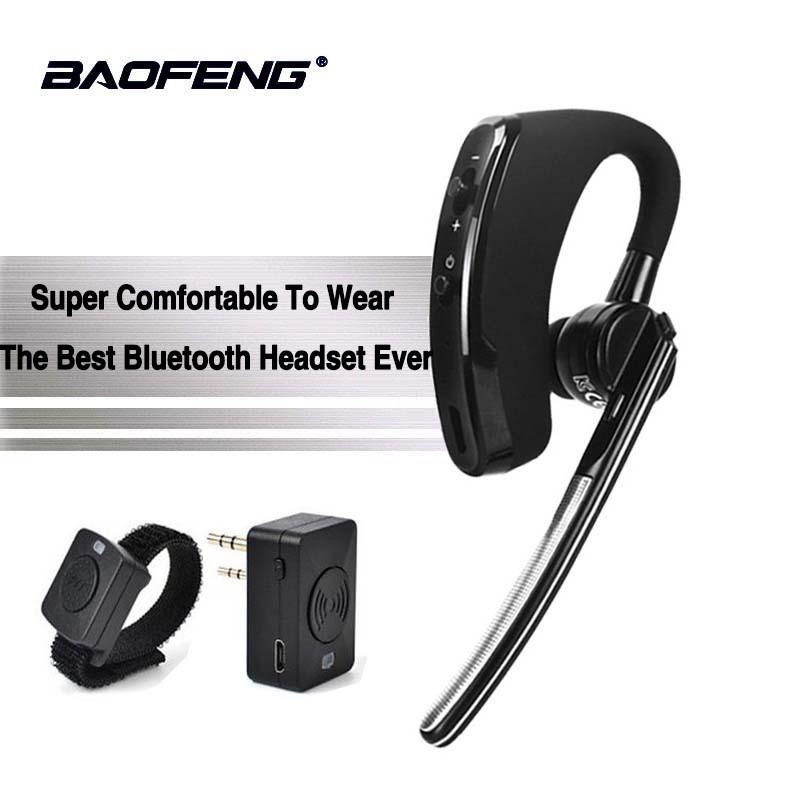 Bluetooth Wireless Earpiece Handsfree Walkie Talkie Kenwood Baofeng Tyt K Type Shopee Malaysia