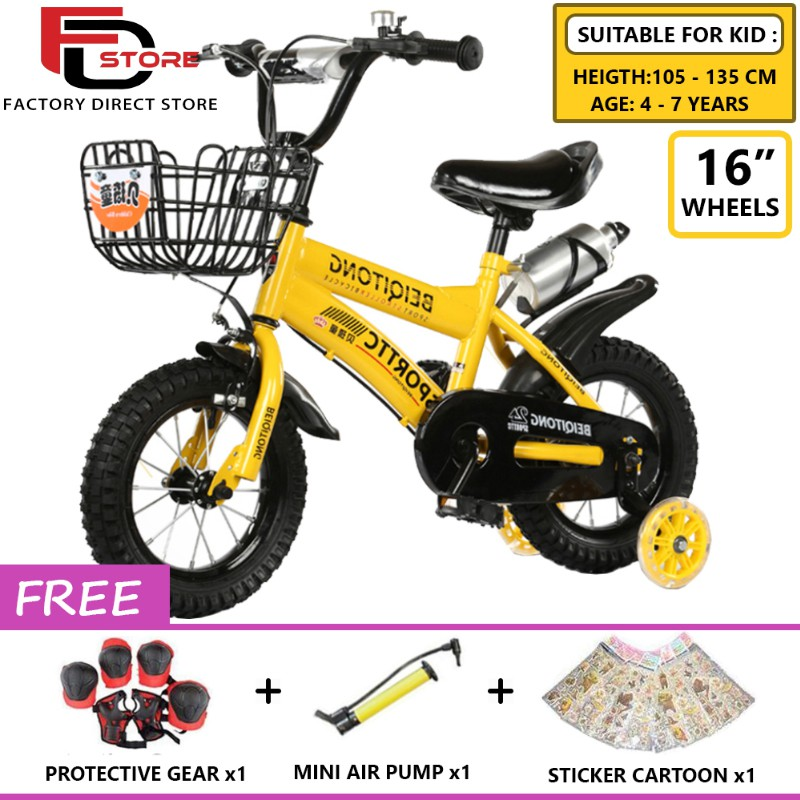 6547a02e044 ProductImage. ProductImage. FDS BMX Freestyle Kids Bikes 16 Inch Wheels  Boy's And Girl's Bikes