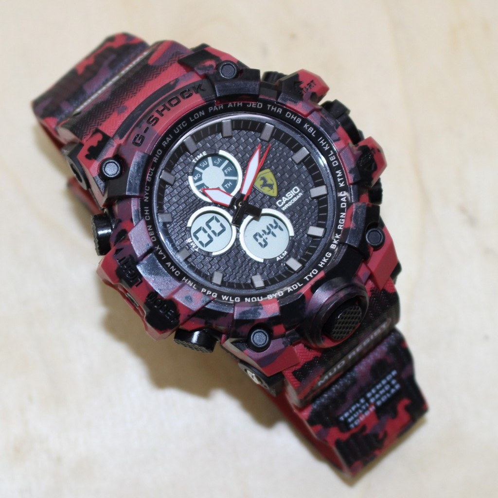 casio g-shock ferrari for unisex