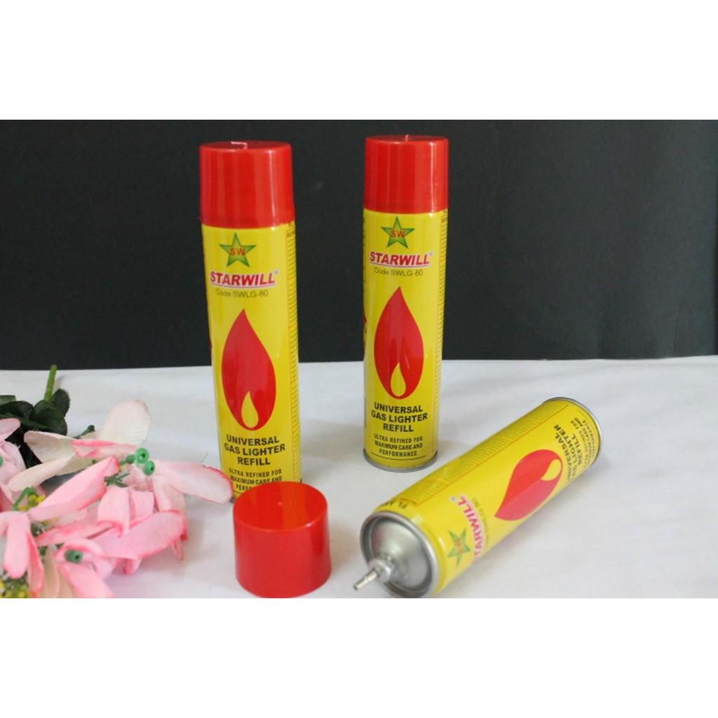 2 pc STARWILL Universal Gas Lighter Refill 80ML