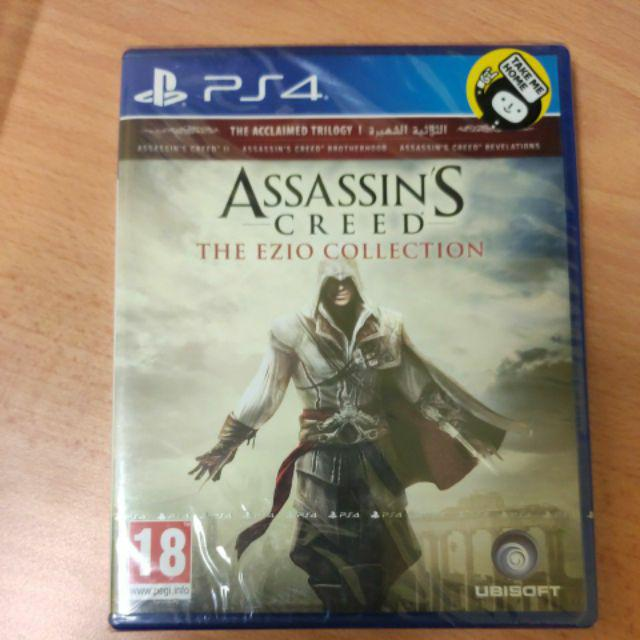 Promotion Ps4 Assassin S Creed The Ezio Collection R2 Shopee