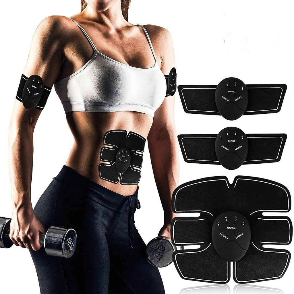 Rechargeable Smart 8 Abs Stimulator Fitness Gear Muscle Abdominal Toning Trainer