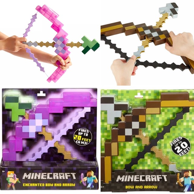 Minecraft bow and arrow toy