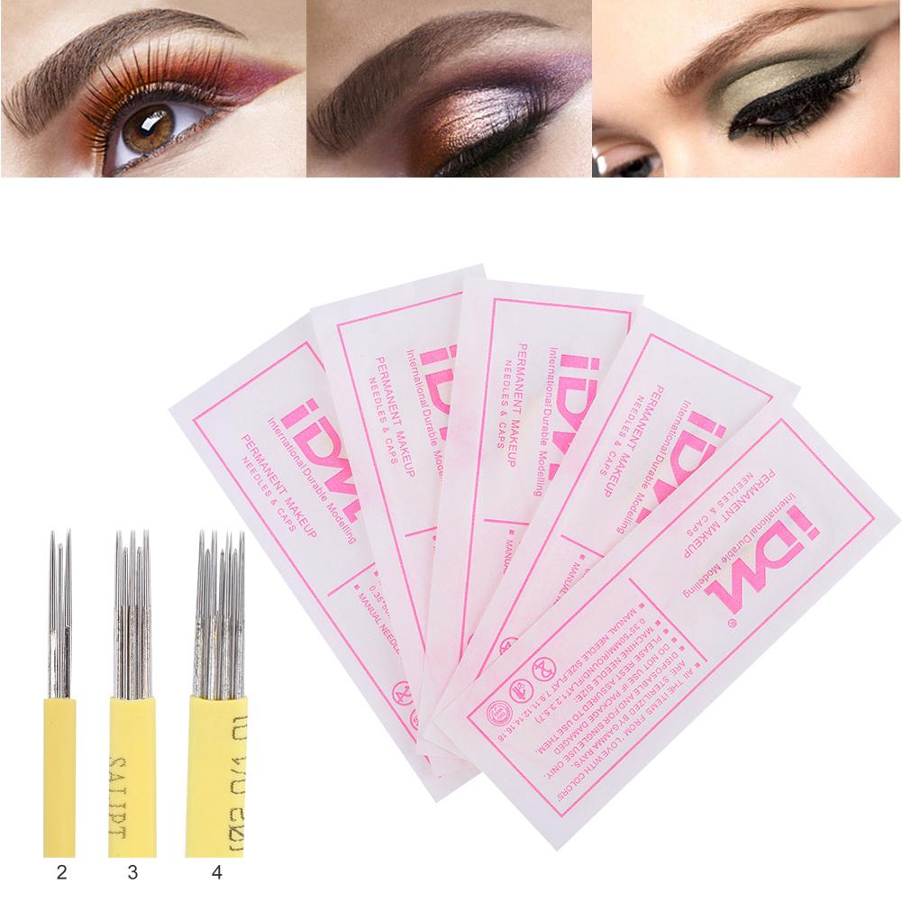 Permanent Makeup Eyebrow Lip Eyeliner Tattoo Machine Kit With Cartridge Needles | Shopee Malaysia