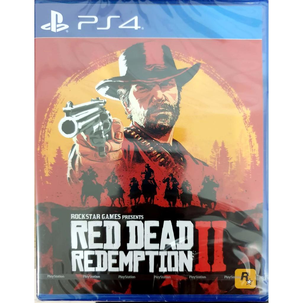 Red Dead Redemption 2 - PS4 Game | ENG/CHN | R3