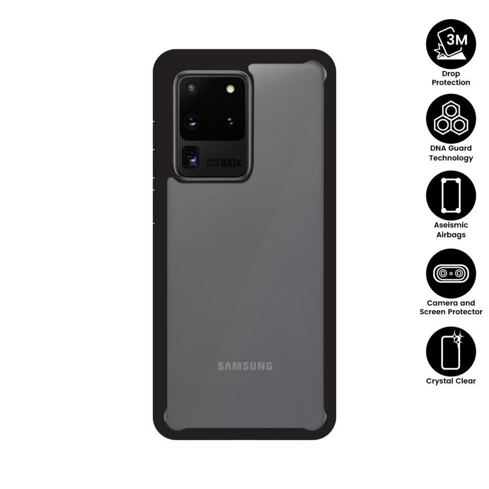 X.One® DropGuard 2.0+ Impact Protection Case Samsung Galaxy S20 Ultra, S20 Plus, S20 Xone