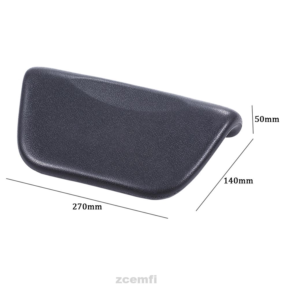 TOOGOO black line R Black Leather Hand Brake Cover Protective Sleeve