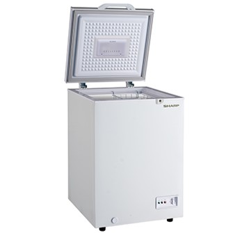 SHARP Chest Freezer LED DOOR LIGHT 110L SJC118