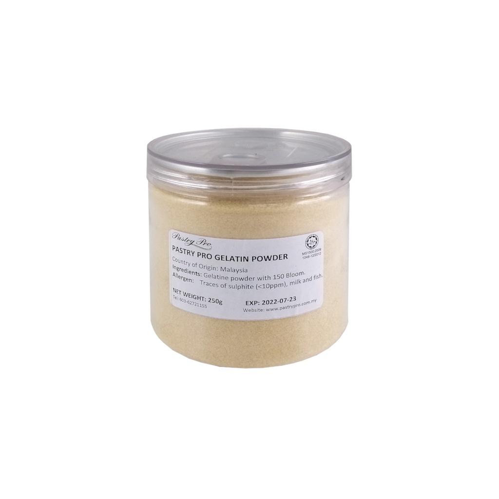 Gelatine Powder, 150 Bloom, 250 g