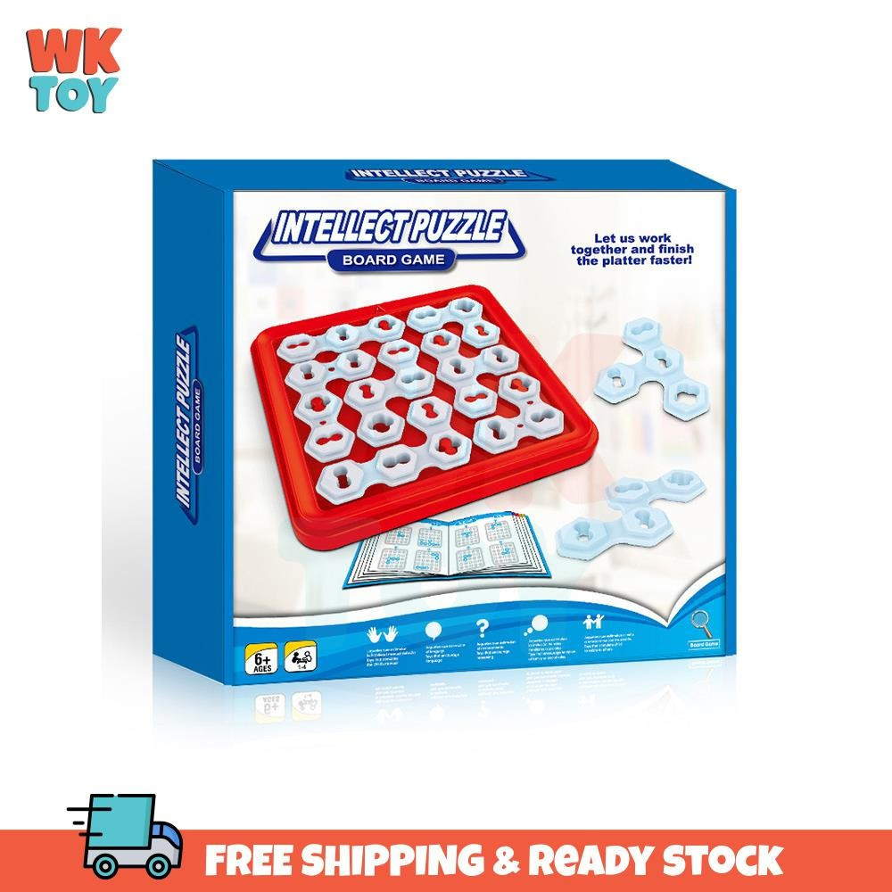 WKTOY Intellect puzzle Board Game Party Puzzle Breaking Game Early Education Exercise Thinking