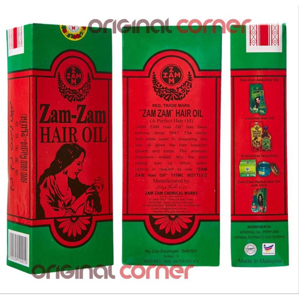 ZAM ZAM HAIR OIL ORIGINAL