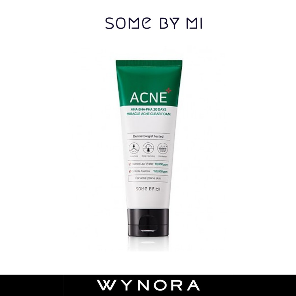 Some By Mi 30 Days Miracle Acne Clear Foam 100ml (Ready Stock)
