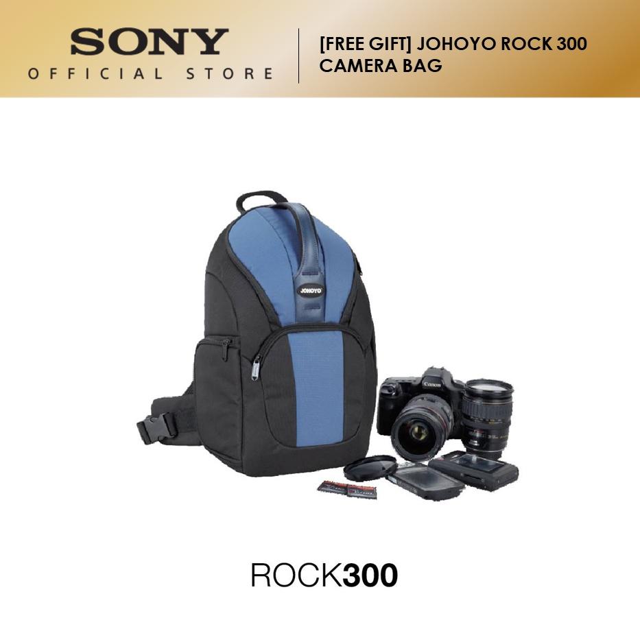 [FREE GIFT] JOHOYO ROCK 300 CAMERA BAG