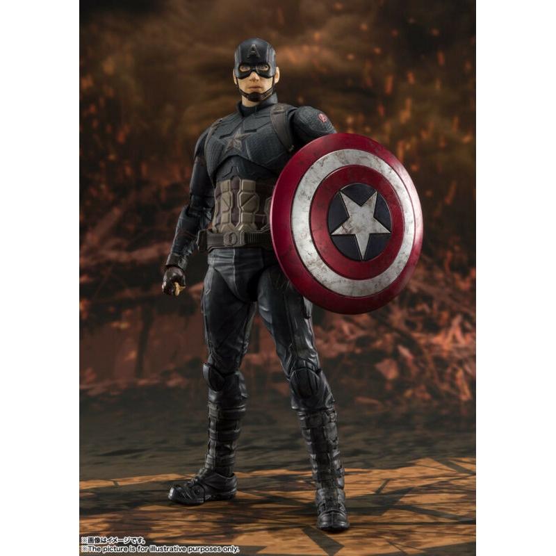 Bandai S.H.Figuarts Captain America Civil War Iron Man Mark Import Japan 46