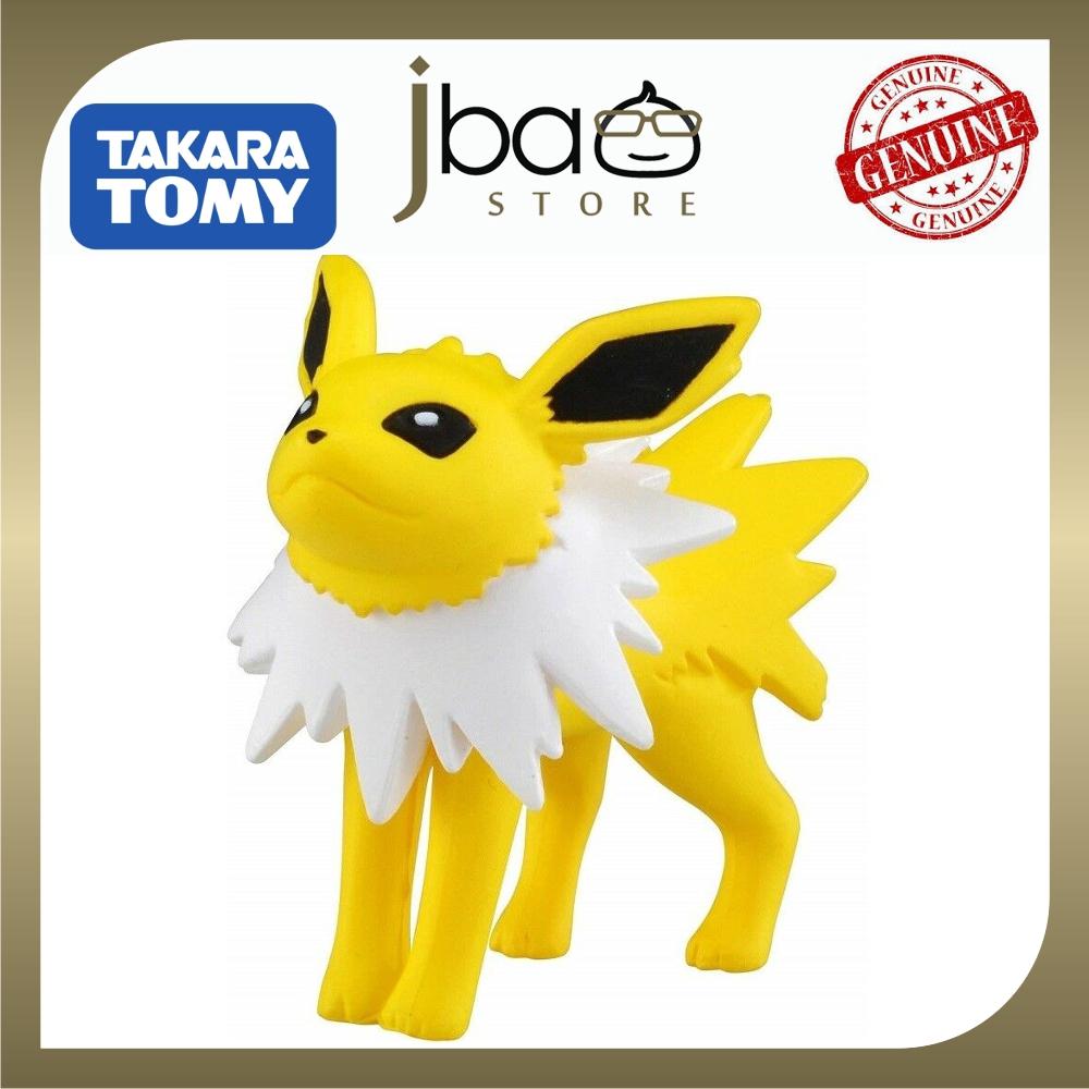 Takara Tomy Pokemon Moncolle EX Jolteon Figure Electric Original Ready Stock