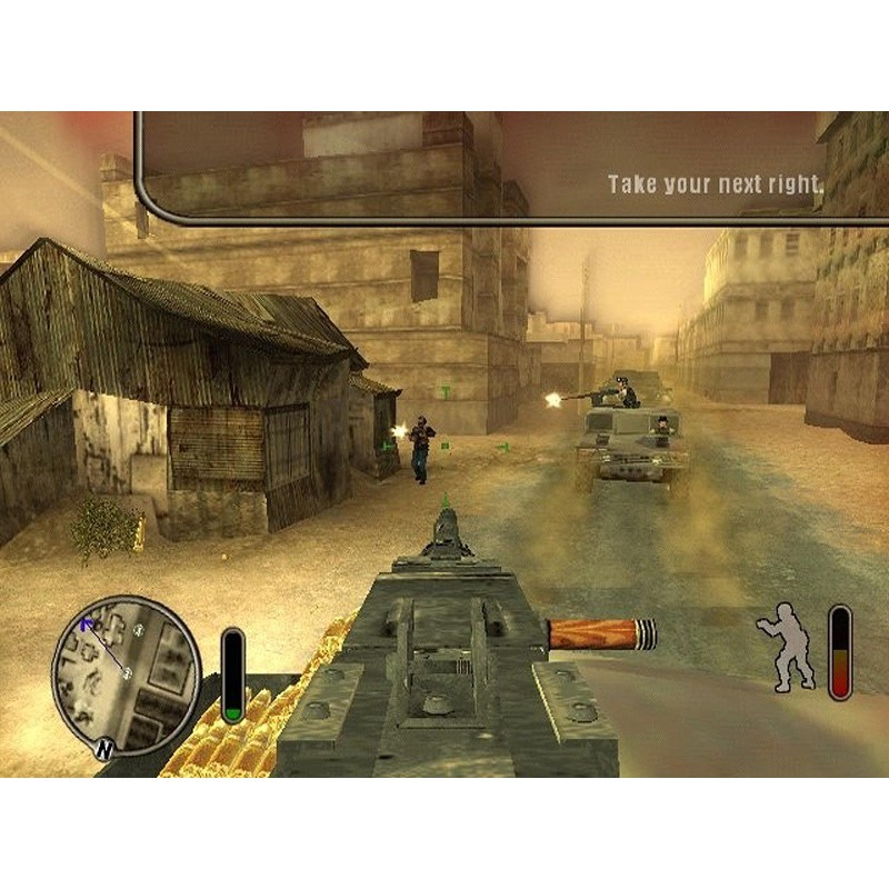 PS2 Game Delta Force: Black Hawk Down, Team Sabre, Shooter Game, English version / PlayStation 2