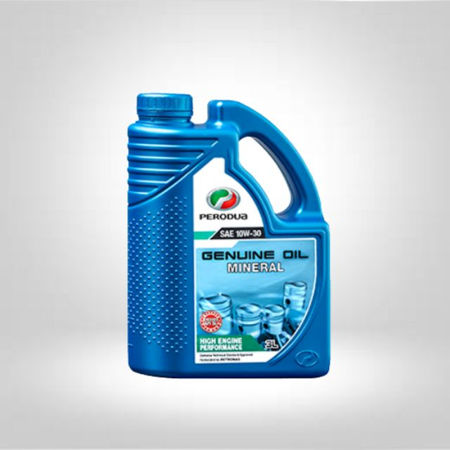 PERODUA SAE 10W-30 MINERAL ENGINE OIL (3LITER)