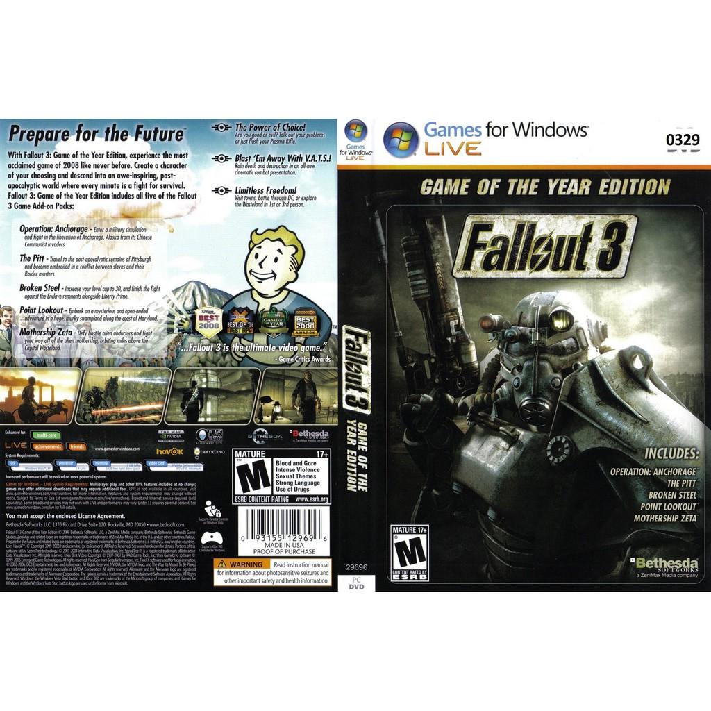 (PC) Fallout 3