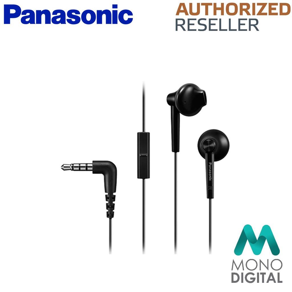 f201f232e09 Panasonic RP-TCM55E-K Bass Boots in-Ear Headphones For Mobile  Phone(Black/White) | Shopee Malaysia