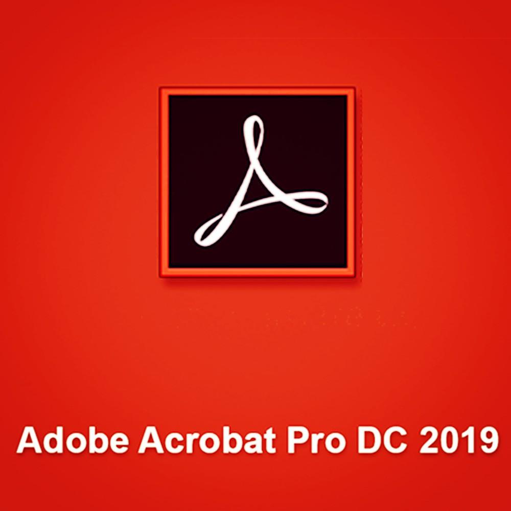 Adobe Acrobat Pro DC 2019 Win 64bit Full Version