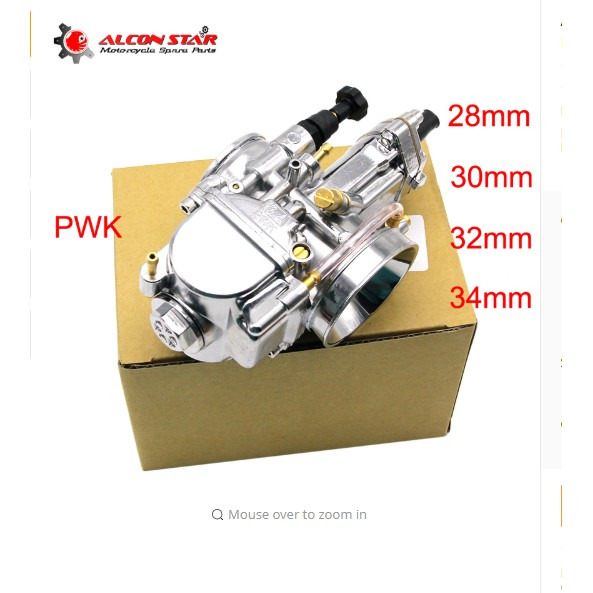 Silver 28mm 30mm 32mm 34mm Motorcycle Accessories Carburetor Brand New PWK  KOSO