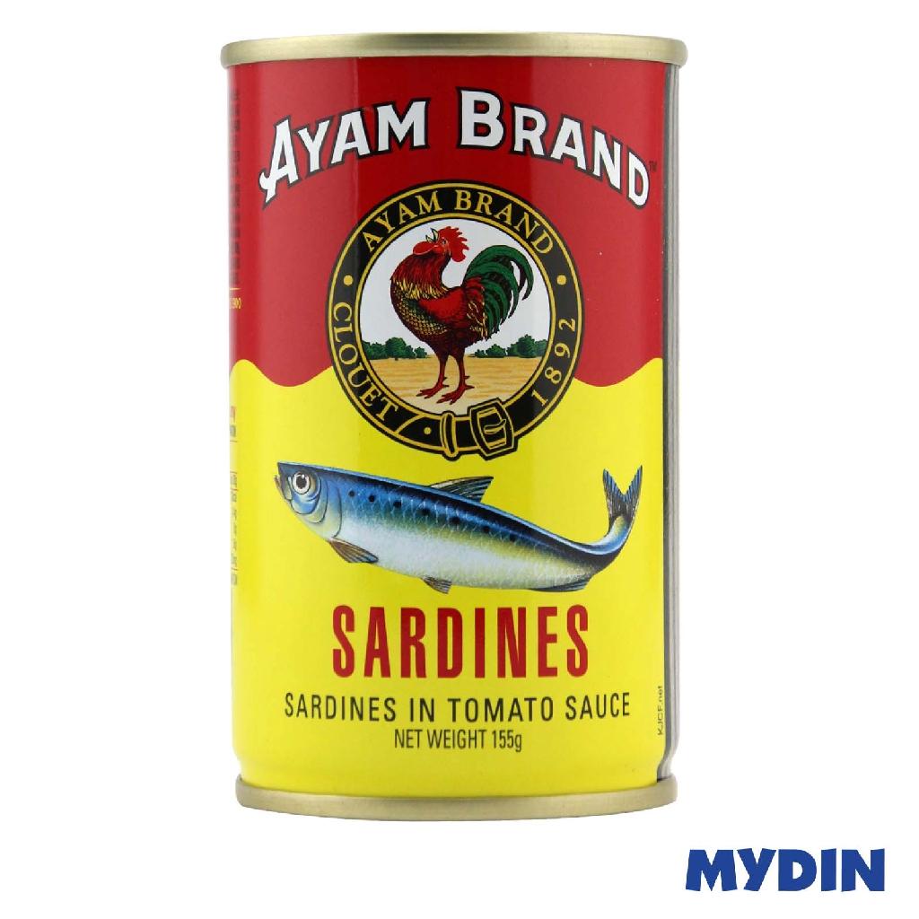 Ayam Brand Sardines in Tomato Sauce (155g)