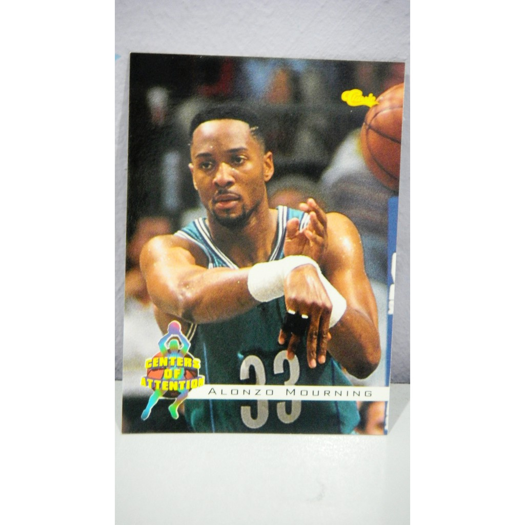 94 Classic 68 Alonzo Mourning Nba Trading Card