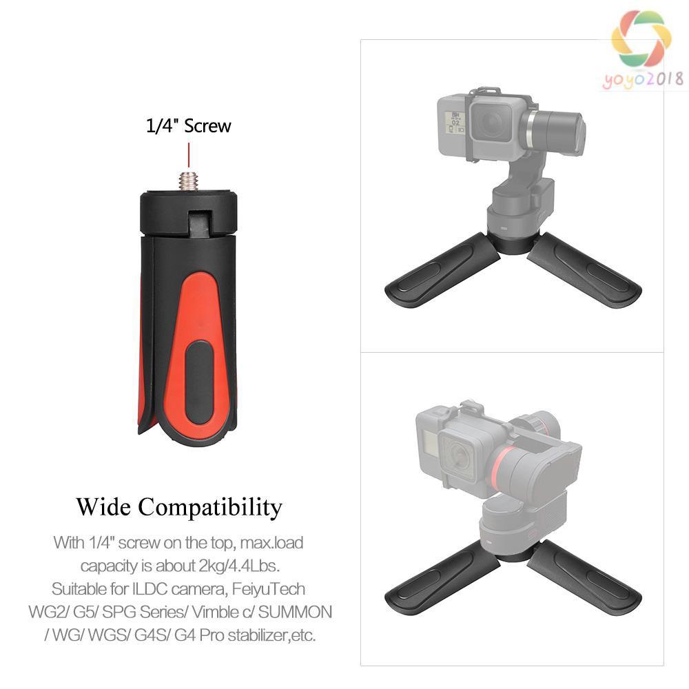 Bigking Camera Gimbal Tripod,Portable Folding Camera Gimbal Tripod Time-Lapse Photography Stand Mount Holder with 1//4 Screw