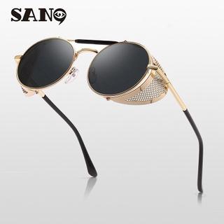eee0640c6 【High Quality】Retro Round Metal Sunglasses Steampunk Men Women Brand  Designer Glasses Oculos De Sol Shades UV Protection | Shopee Malaysia