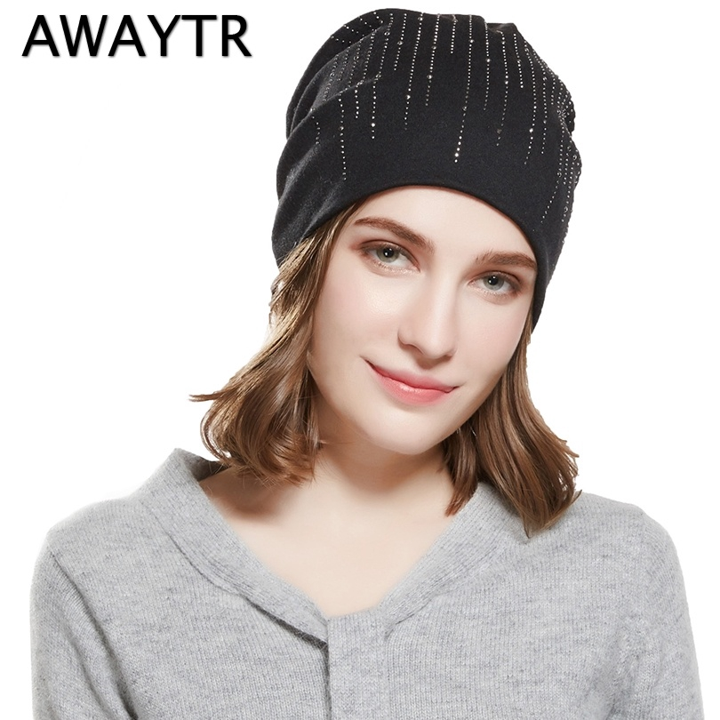 ea74eda27b91fc Women Faux Angora Knitted Hat Beanie Cap Classic Color Letter Printed Hats  | Shopee Malaysia