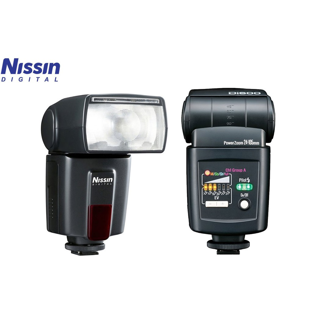 NISSIN DI600 SPEEDLIGHT (ORIGINAL)
