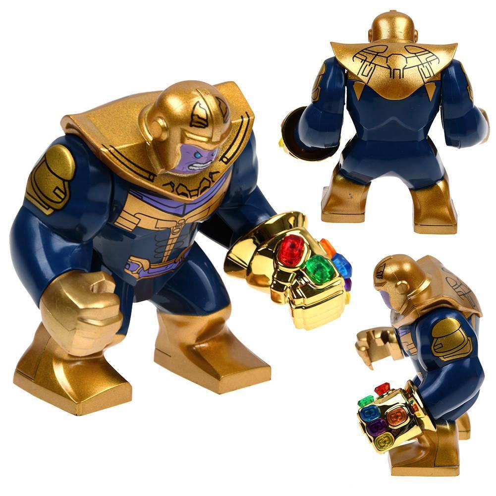 Avengers Infinity War Thanos Gauntlet Mini Bausteine Spielzeug Geschenk New 2019