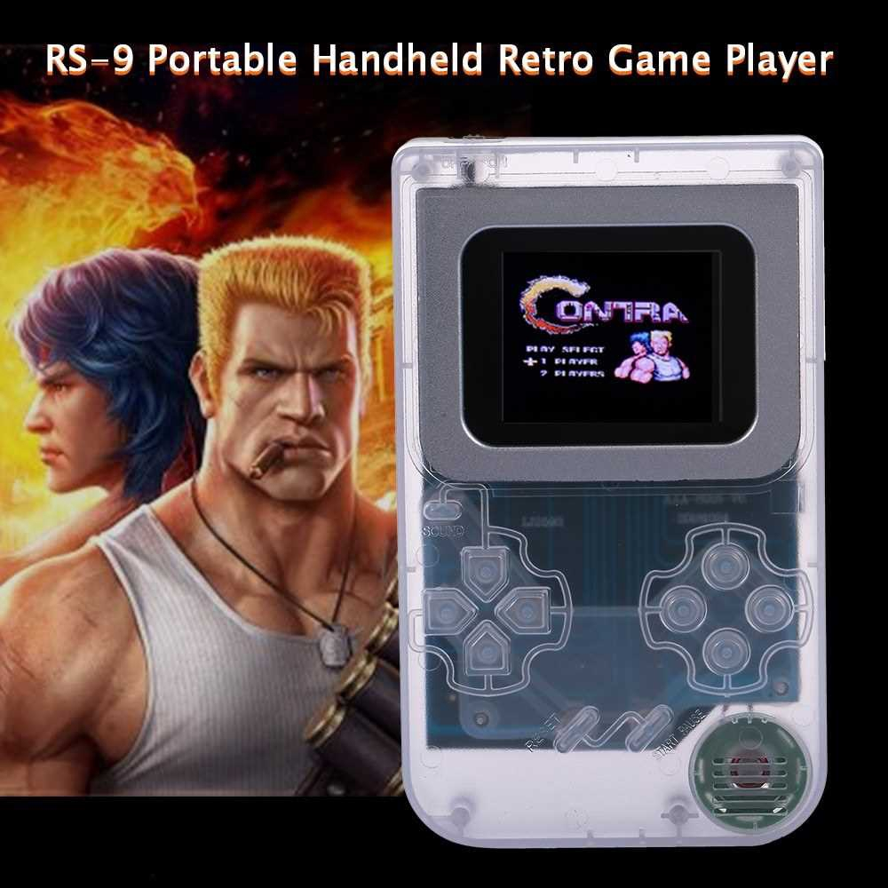 RS-9 Portable Handheld Game Console Retro Game Player Built-in 268 Classic Games Gifts for Video Game Lover Children Ki