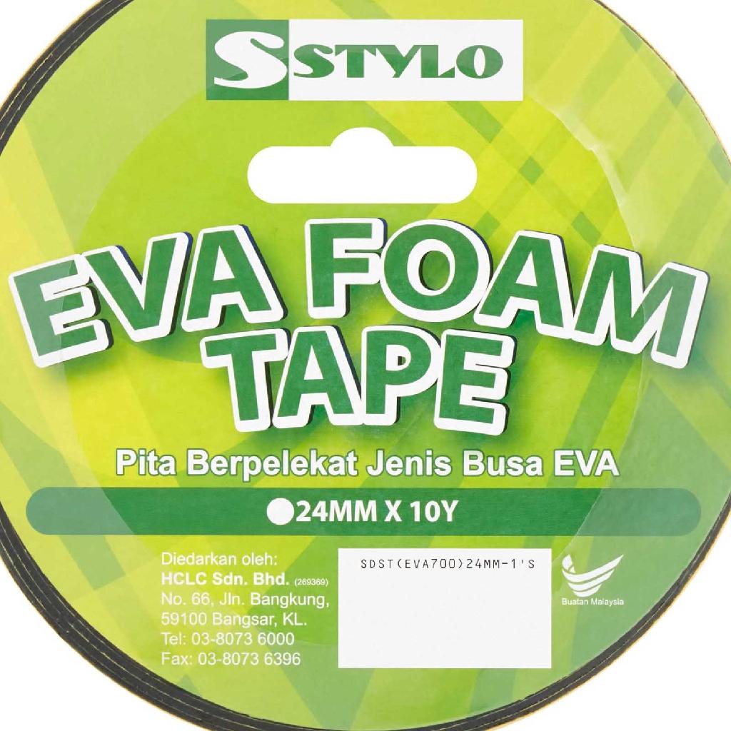Stylo Eva Foam Tape (24mm x 10yds)