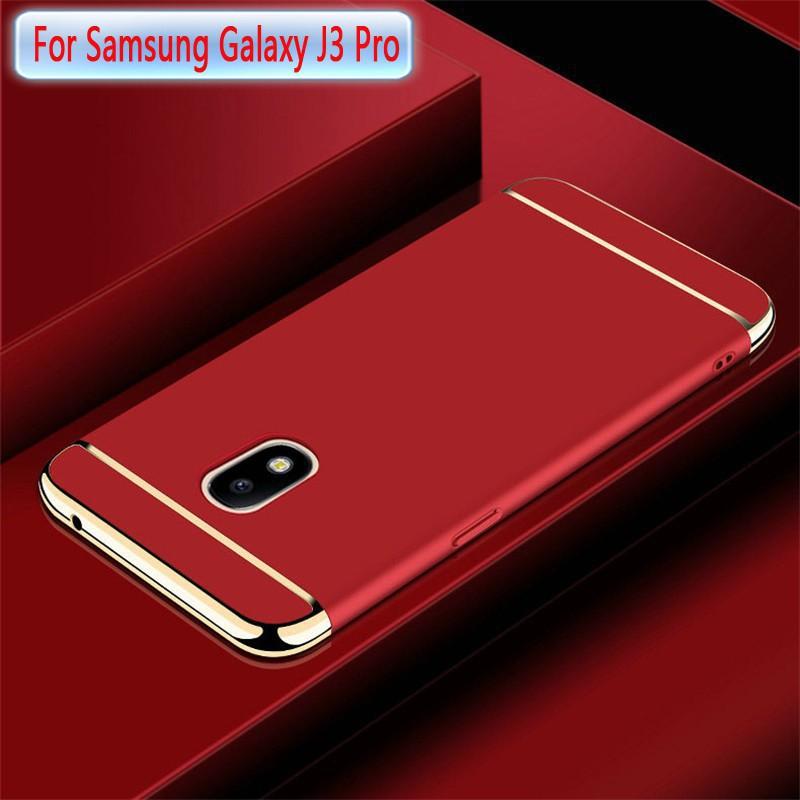 Samsung Galaxy J3 Pro J3 2017 Case Slim Hard PC Cover Casing J3 (2017)