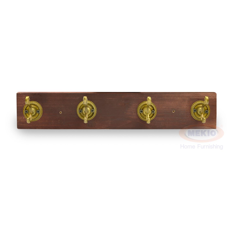 Metal Hook 4 wooden plank