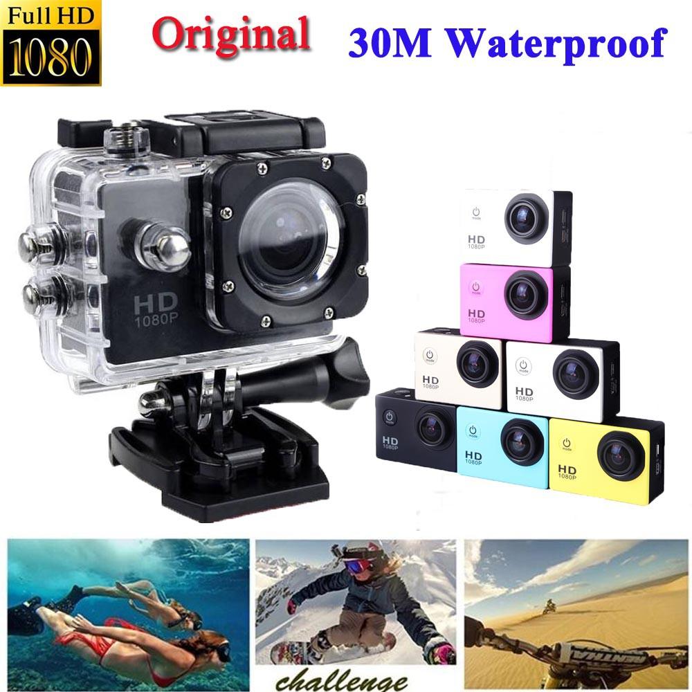 2 0inch Waterproof Action Camera Full Hd 1080p Sport Cam Gopro Sj4000 Murah Shopee Malaysia