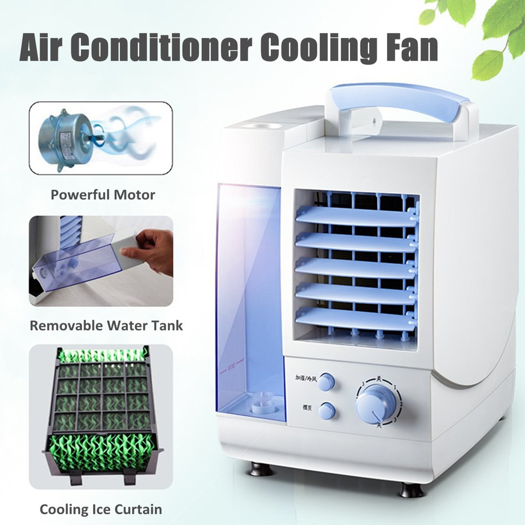 Portable Air Conditioner Conditioning Fan Humidifier Cooler Home Cooling