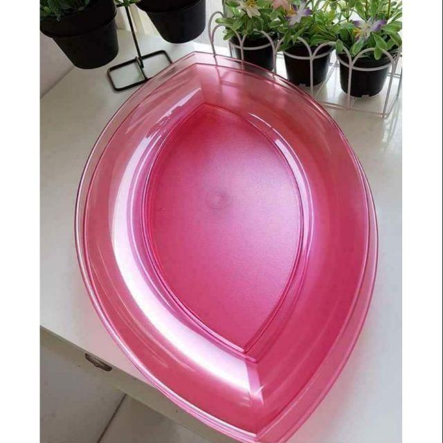 [CNY Sale] ORIGINAL TUPPERWARE Lotus Large Platter / Oval Plate