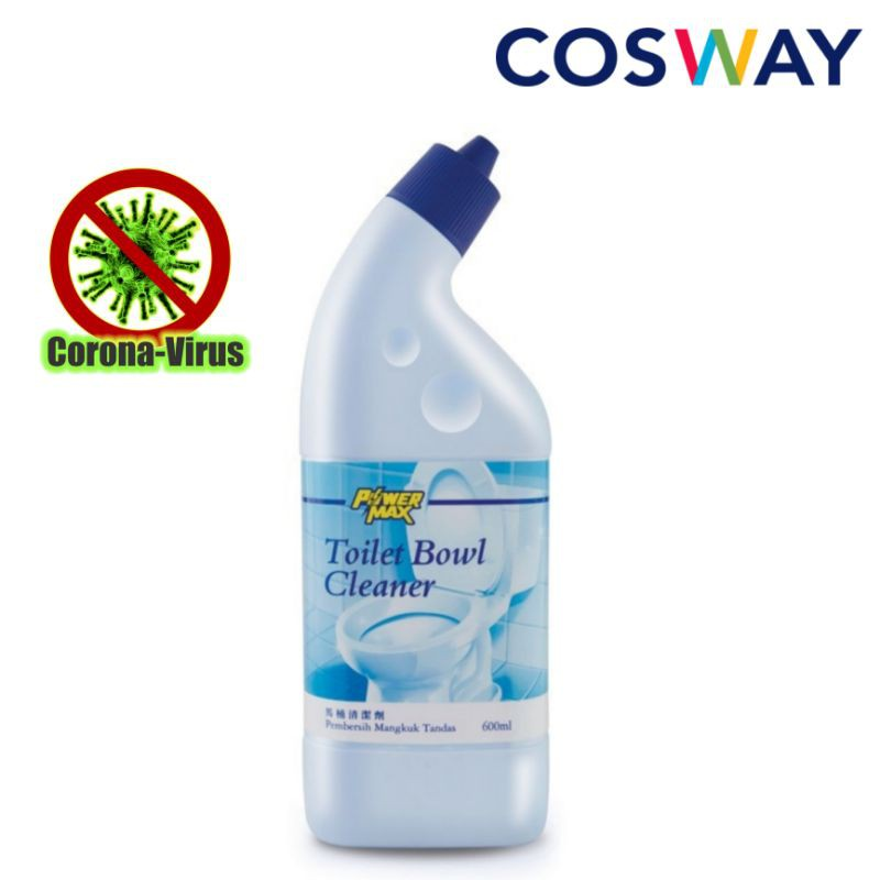 Cosway PowerMax Toilet Bowl Cleaner 600ml x 1pc