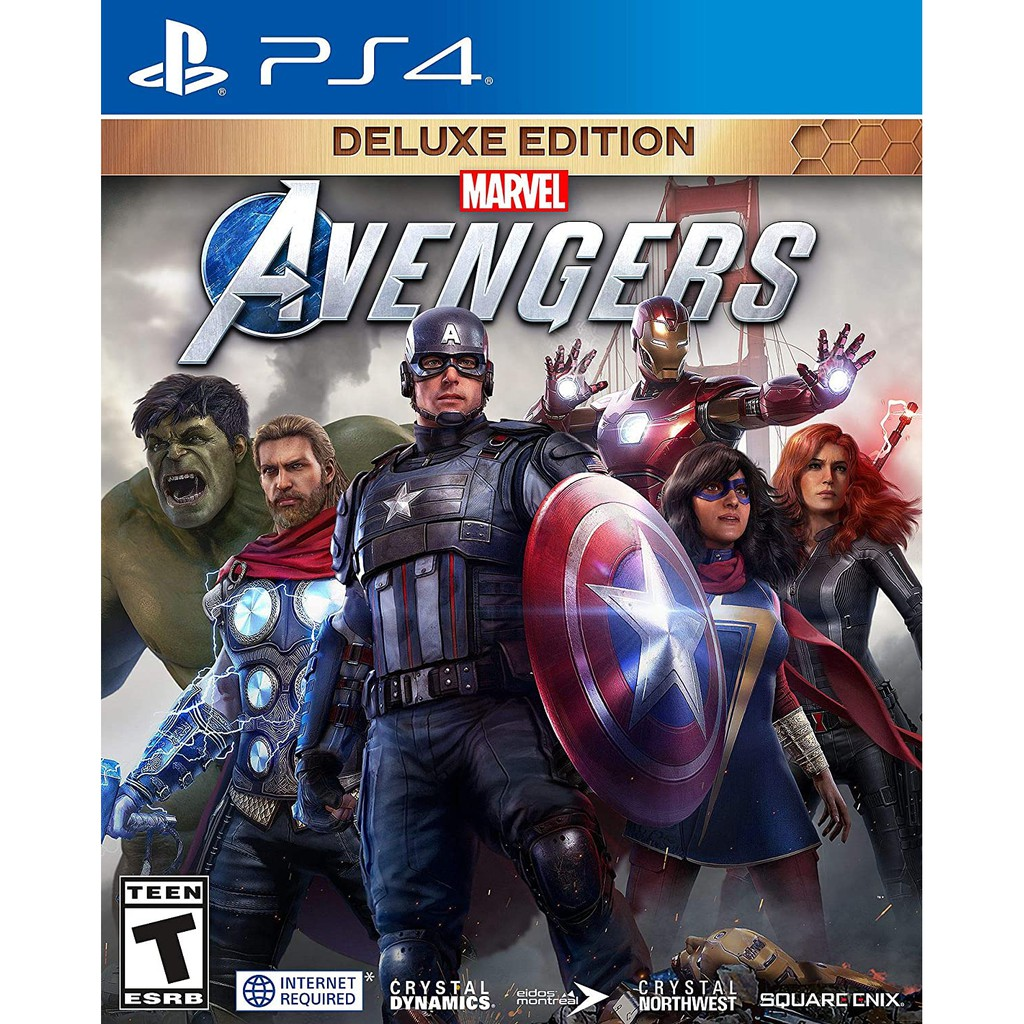 PS4 Marvel\'s Avengers: Deluxe Edition (R3/ENG)