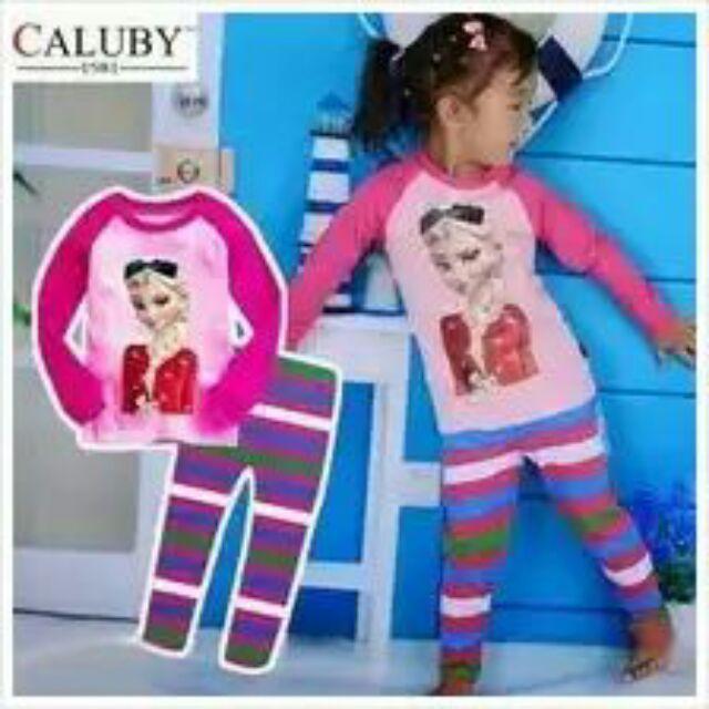 bc46594b8 FZ Caluby Frozen Elsa Pyjamas - X99