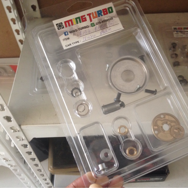 Turbo repair kit isuzu dmax RHF4 RHF5