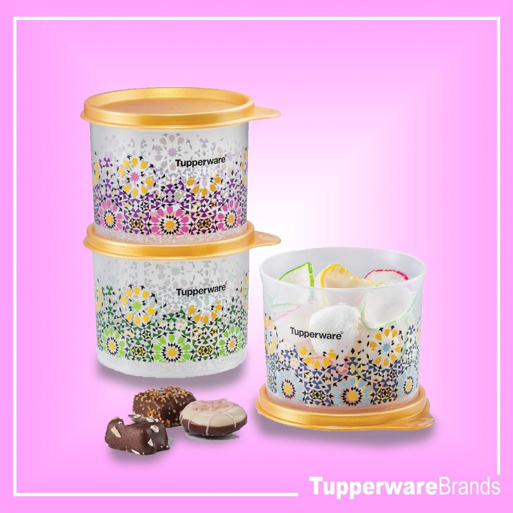 Tupperware Cosette Keeper Set (3) 570ml