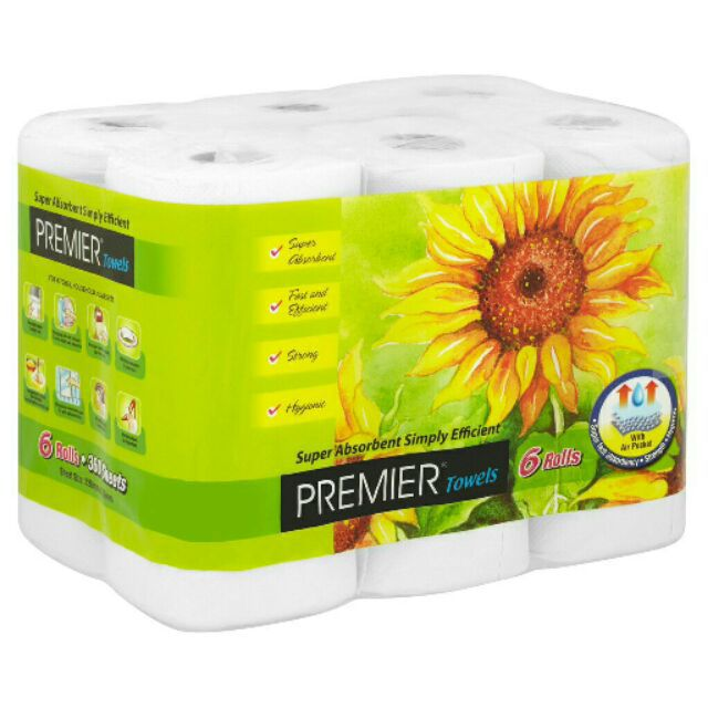 ???? HOT SALE ???? PREMIER TISSUE KITCHEN (6 TISU ROLL)